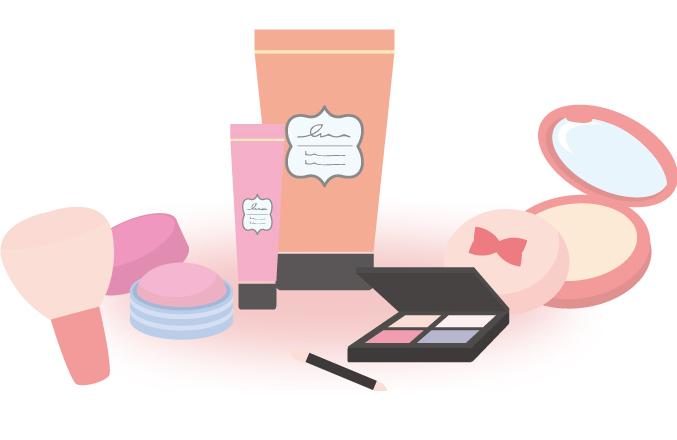 メイクでの変装による顔バレ防止法